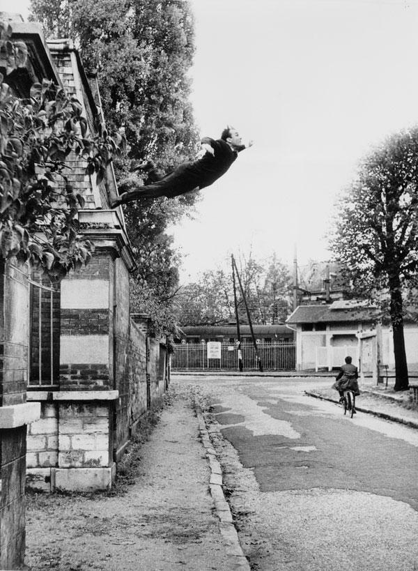 Salto para o vazio, de 1960 (Yves Klein)