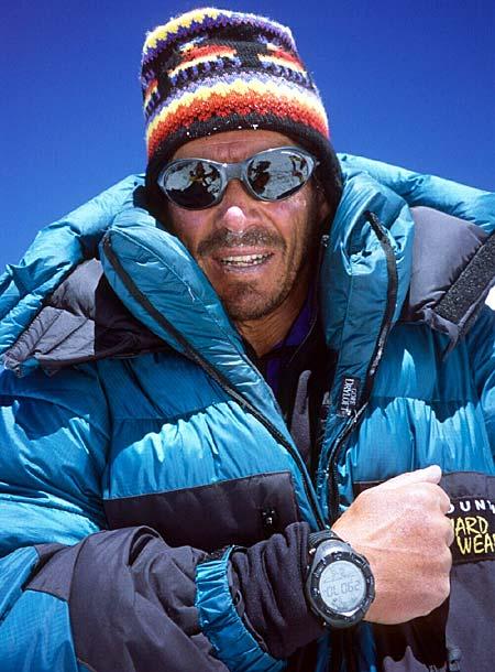 """Phil Ershler, o alpinista que fotografou o topo da montanha erroneamente chamada de """"pirâmide"""""""