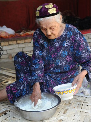 Alimihan Seyiti diz ter 127 anos (Foto: AFP)