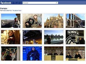 Álbum de fotos do Facebook (Foto: Reprodução)