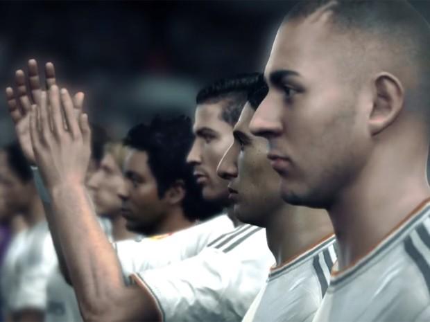 Jogadores do Real Madrid em novo trailer de 'Fifa 14' para PS4 e Xbox One (Foto: Reprodução/EA Sports)