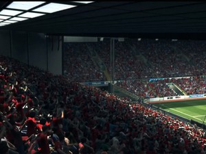 Torcida de 'Fifa 14' é mais realista nas versões para PS4 e Xbox One (Foto: Reprodução/EA Sports)