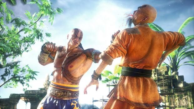 Cena de 'Fighter Within' game de luta para Kinect (Foto: Divulgação/Ubisoft)