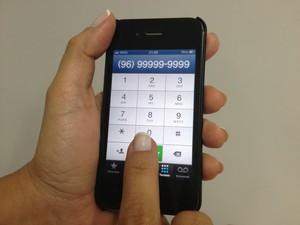Ligações de celular vão ganhar mais um número (Foto: Maiara Pires/G1)
