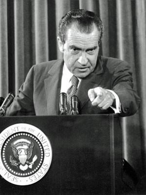 Richard Nixon, em foto de 1972 (Foto: AFP)