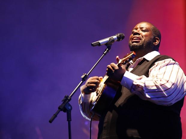 O cantor Péricles, ex-vocalista do Exaltasamba (Foto: Divulgação)