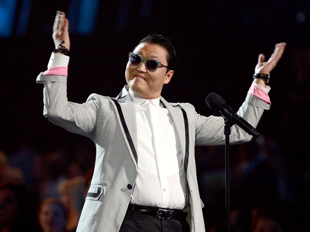 Psy no Billboard Music Awards 2013 (Foto: Ethan Miller/ Getty Images North America/ AFP)