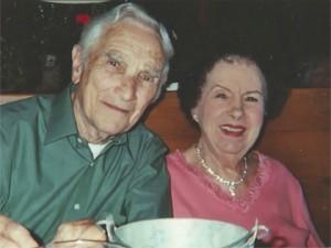 Fred e Lorraine Stobaugh, que foram casados por 75 anos (Foto: Divulgação / Filme 'A Letter from Fred')