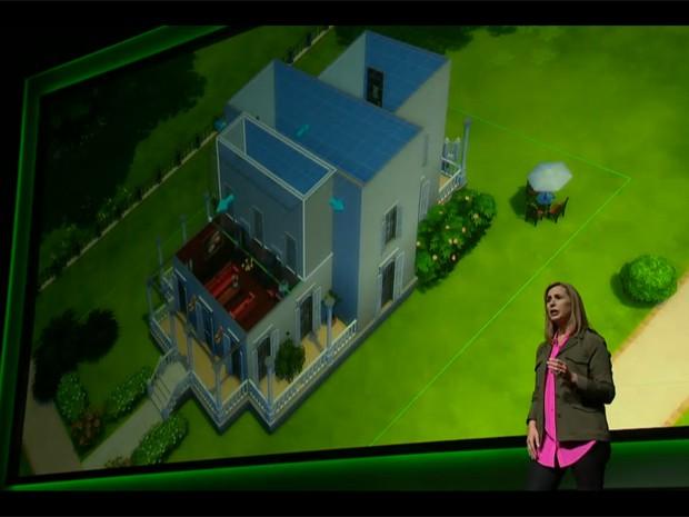 Produtora apresenta 'The Sims 4' na Gamescom (Foto: reprodução)