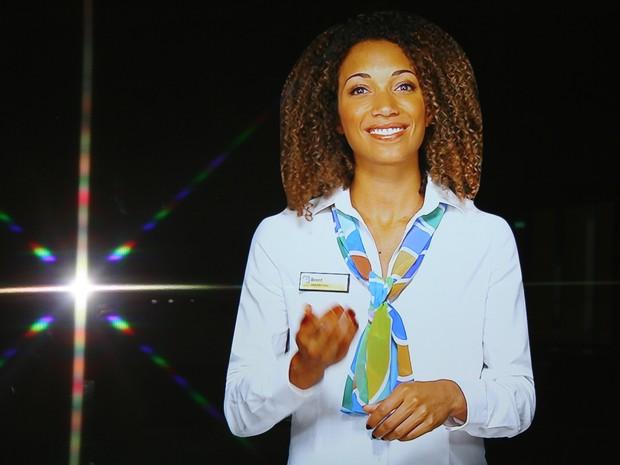 Janice é a nova recepcionista virtual da subprefeitura de Londres. (Foto: Brent Council)