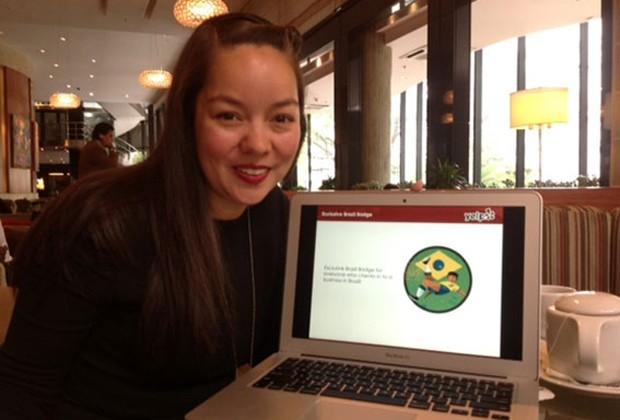 Miriam Warren, vice-presidente de Novos Mercados do Yelp, em São Paulo (Foto: Daniela Braun/G1)