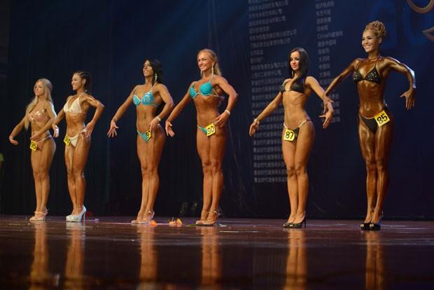 Competição foi realizada em Zhengzhou, na província de Henan (Foto: Ed Jones/AFP)