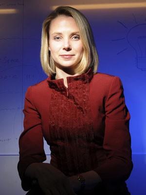 Marissa Mayer, ex-executiva do Google, assumiu como presidente-executiva do Yahoo em julho (Foto: Noah Berger/Arquivo/Reuters)