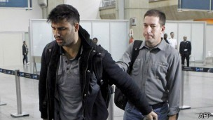 David Miranda ficou nove horas detido (Foto: AFP)