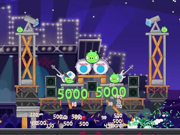 'Angry Birds Friends' terá versão baseada no Rock in Rio (Foto: Divulgação/Rovio)