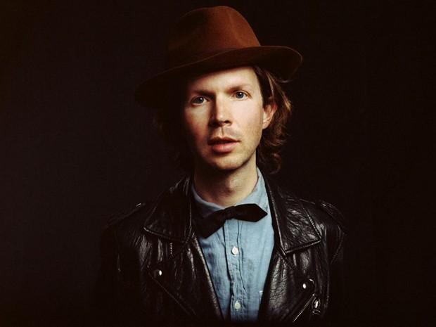 O cantor americano Beck (Foto: Gina Ribisi)