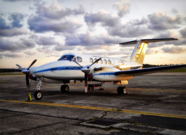 Avião que será usado em pesquisa da Nasa sobre poluição (Foto: Divulgação/Nasa)