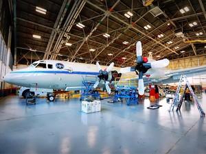 Aeronave vai ser equipada com instrumentos e sobrevoará região dos EUA em pesquisa (Foto: Divulgação/Patrick Black/Nasa)