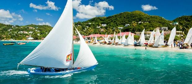 Grenada fica no Caribe, região de passagem de ciclones. (Foto: Governo de Grenada/Divulgação)