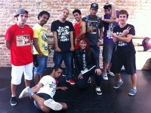 Doze dançarinos profissionais vão se apresentar no Palco Street Dance, no Rock In Rio (Foto: MariuchaMachado/G1)