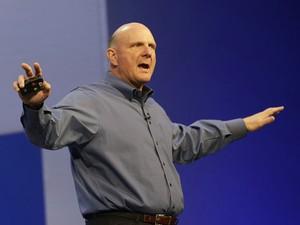 Steve Ballmer deixou a Microsoft (Foto: Jeff Chiu/AP)
