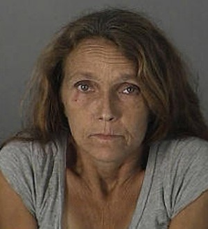 Cynthia Alexander foi detida após atacar a filha com arma de choque por não gostar da maneira como ela fazia a limpeza (Foto: Divulgação/Pasco County Jail )