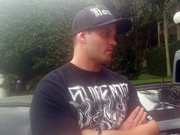 Victor Mehl trabalhou como segurança da banda Charlie Brown Jr. (Foto: Silvio Muniz/G1)