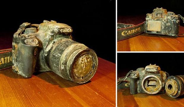 Fotógrafo Markus Thompson usou Google+ para achar dono de câmera encontrada no fundo do mar (Foto: Reprodução/Google+)