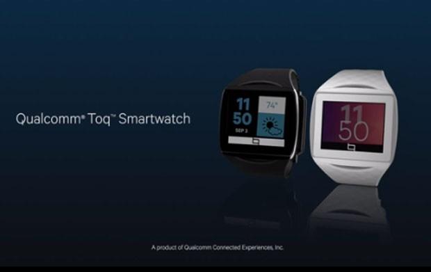 Toq é o relógio inteligente da Qualcomm (Foto: Divulgação/Qualcomm)