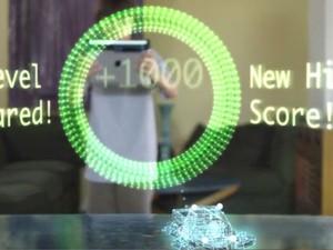 Imagem de mesa transformada em objeto tridimensional por aparelho que faz o iPad virar um scanner 3D. (Foto: Reprodução/Kickstarter.com)