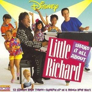 Capa de 'Shake it all about', disco de Little Richard lançado em 1992 (Foto: Divulgação)