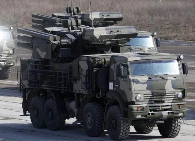 Pantsir S-1 (Foto: Anton Denisov/Ria Novosti/AFP)