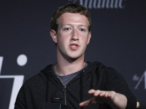 Mark Zuckerberg durante evento em Washington (EUA) (Foto: Jonathan Ernst/Reuters)