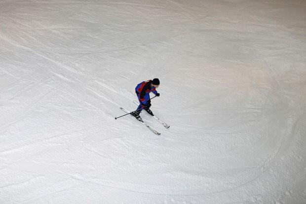 Complexo conta com uma pista de esqui de 400 metros (Foto: Ahmed Jadallah/Reuters)