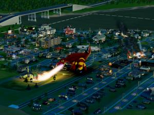 'SimCity' é a nova versão do game de criação e administração de cidades virtuais (Foto: Reprodução/G1)
