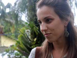 Bianca Dias Amaral, obstetra de 30 anos que, para o desespero de sua família, foi para Síria em sua primeira missão no MSF (Foto: Arquivo Pessoal)