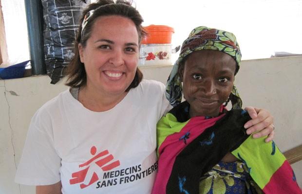 Letícia Pokorny, de 37 anos, havia acabado de passar alguns meses na Líbia quando foi chamada para ir para Síria (Foto: Arquivo Pessoal)