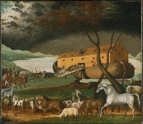Arca de Noé - Edward Hicks (reprodução/Wikipédia)