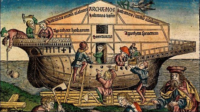 Chineses teriam encontrado a Arca de Noé! Será verdade? (imagem: Nurembuerg/Wikipédia)