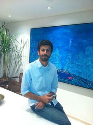 Bruno Mendes, diretor de operações do aplicativo VaiMoto, que permite a contratação de motoboys pelo celular. (Foto: Divulgação)