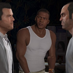 'GTA V' personagens (Foto: Divulgação/Rockstar)