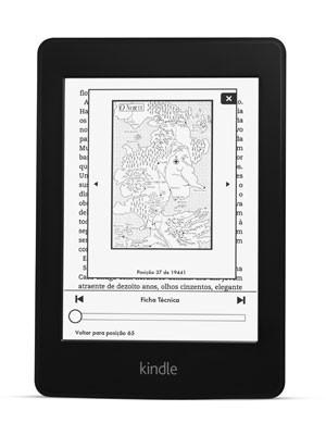 Kindle Paperwhite, sexta geração do leitor digital da Amazon, é vendido por R$ 480. (Foto: Divulgação/Amazon)