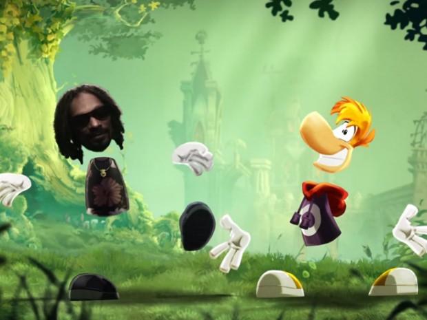 Snoop Lion aparece em vídeo de 'Rayman Legends' para PS4 e Xbox One (Foto: Reprodução/Youtube/Ubisoft)