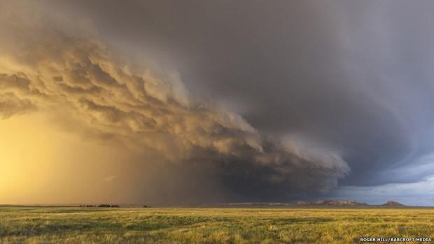 Furacão, tufão e ciclone são nomes regionais para o mesmo tipo de tempestade (Foto: Roger Hill/Barcroft USA)