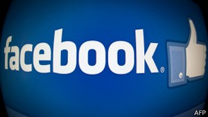 Logotipo do Facebook (Foto: AFP)