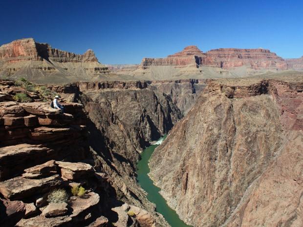 Medição termocronológica indica que o Grand Canyon se constituiu entre 5 e 6 milhões de anos atrás (Foto: Laura Crossey, UNM/Divulgação)