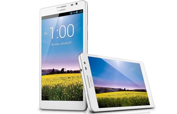 Smartphone Ascend Mate2 4G, com tela de 6.1 polegadas, lançado pela Huawei na CES 2014. (Foto: Divulgação/Huawei)
