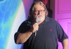 Gabe Newell, cofundador da Valve, quer atacar a Microsoft com as Steam Machines (Foto: Gustavo Petró/G1)