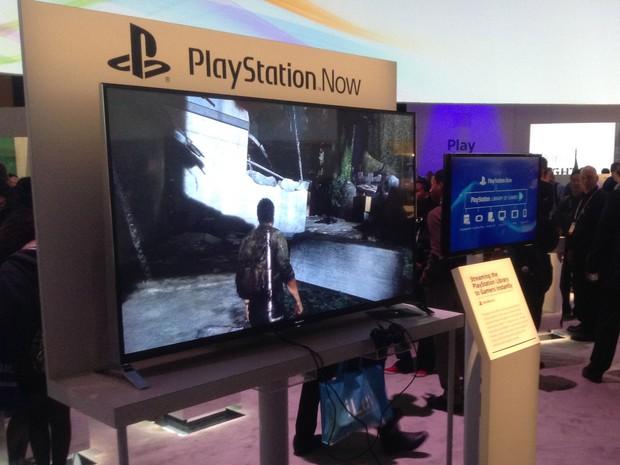 Serviço PlayStation Now estreia na metade do ano nos EUA e traz jogos da família PlayStation por streaming (Foto: Gustavo Petró/G1)