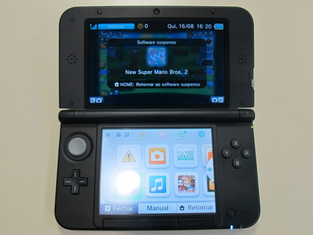 Nintendo 3DS XL (Foto: Gustavo Petró/G1)